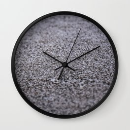 Frost on the North Wall Wall Clock