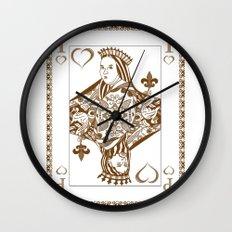 The Card Wall Clock