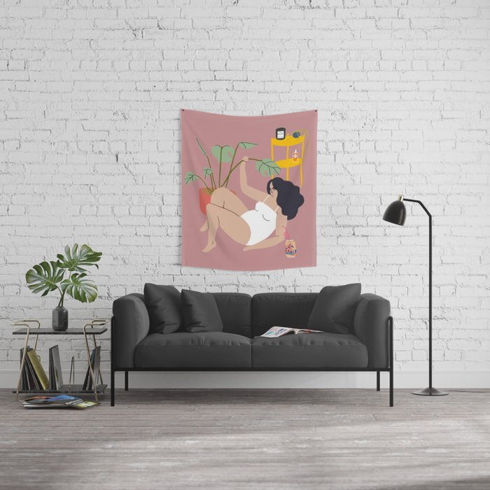 heatwave Wall Tapestry