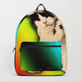 FAT BOI on Dark Backpack