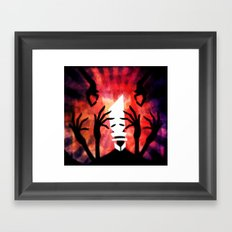 Poison Brain Framed Art Print