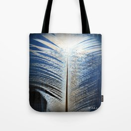 Feather Vignette Tote Bag