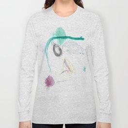 Motley Watercolor Long Sleeve T-shirt