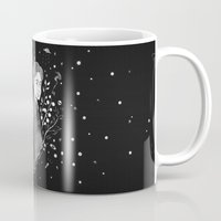 dana scully Mugs featuring The Truth is Out There - Mulder and Scully by littletinyghost