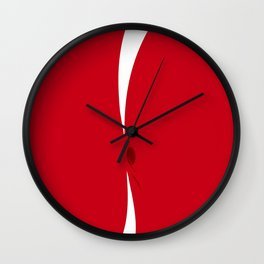 """Do more exercise!"" Wall Clock"