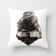 NEW god Throw Pillow