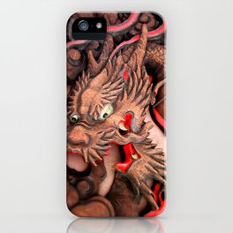 Japanese dragon iPhone Case