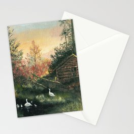 COUNTRY COTTAGE Stationery Cards