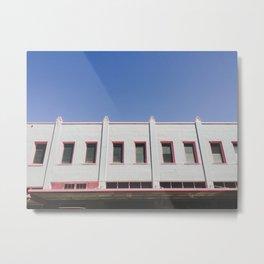 Rectangle Row - Hilo, Hawaiii Metal Print