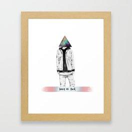 fancy as fuck Framed Art Print