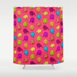 Hungry Kiwis – Juicy Palette Shower Curtain