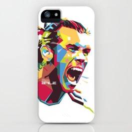 Gareth Bale WPAP 3 iPhone Case