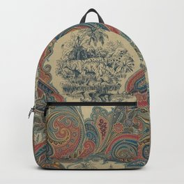Indian 20th Century Paisley Backpack