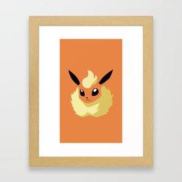 Eevolution: Flicker Framed Art Print