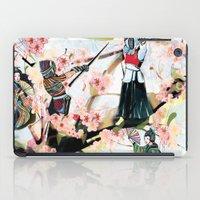 japanese iPad Cases featuring Japanese 2  by Felicia Atanasiu