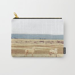 Two Oregon Horses Carry-All Pouch