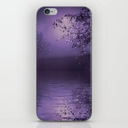 SONG OF THE NIGHTBIRD - LAVENDER iPhone Skin