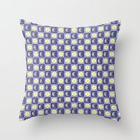 sun and moon Throw Pillows featuring Moon & Sun by Art Tree Designs