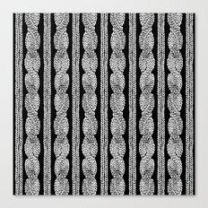 Cable Row B Canvas Print