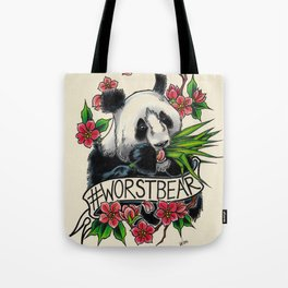Worst Bear from #2016MMM Tote Bag