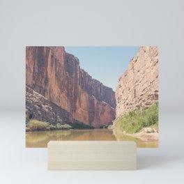 Santa Elena Canyon Mini Art Print