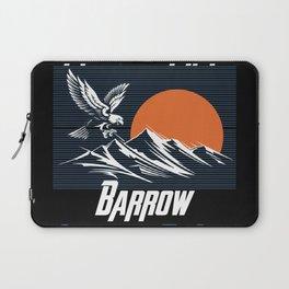 Land of the saints Barrow Legends of life mask Eagles Laptop Sleeve