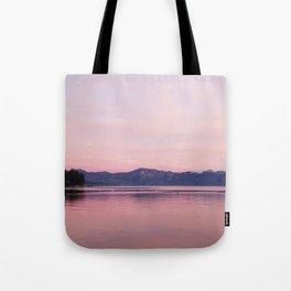 Rose Colored Dream of Lake Tahoe Tote Bag