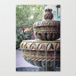 St Augustine Fountain 1 Canvas Print
