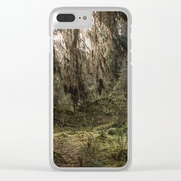 Rainforest Adventure - Nature Photography Clear iPhone Case