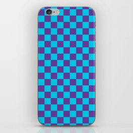 Checkered Pattern III iPhone Skin