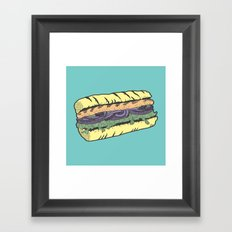 food masquerade Framed Art Print