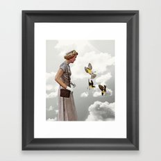 third beat Framed Art Print