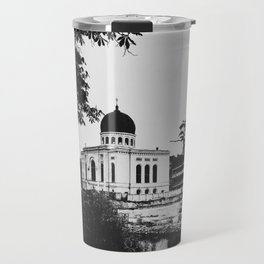 | journey in space-time - a sanctuary for the spirit, chapter II | Travel Mug