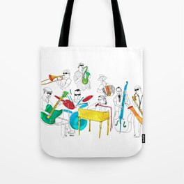NOLA Jazz Fest 2011 Tote Bag