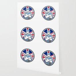 British Refrigeration Mechanic Icon Wallpaper