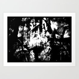Wolfs sight Art Print