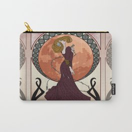 Art Nouveau Bloodborne - Moon Scented Hunter Carry-All Pouch