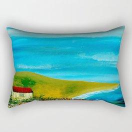 Solitary Sky's Rectangular Pillow