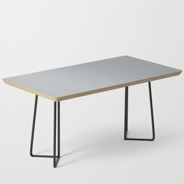 Ultra Pale Grey Solid Color Parable to Jolie Paints French Grey Coffee Table