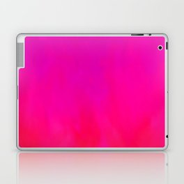 Fuchsia Fire Magenta Violet Ombre Laptop & iPad Skin