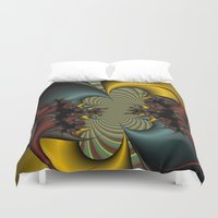 wicked Duvet Covers featuring Wicked by Christy Leigh