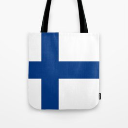 Flag of Finland - High Quality Image Tote Bag