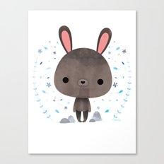 Amami rabbit Canvas Print