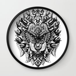 King of the Jungle Wall Clock