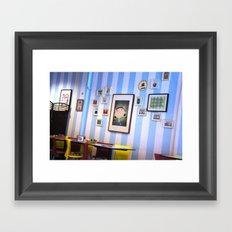 Whimsical hideaway Framed Art Print