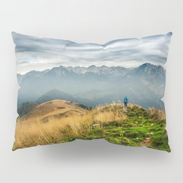 Exploring new locations Pillow Sham