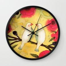 les poetes Wall Clock