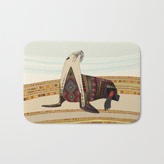 sea lion Bath Mat