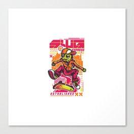 Swg Robo Skate Canvas Print