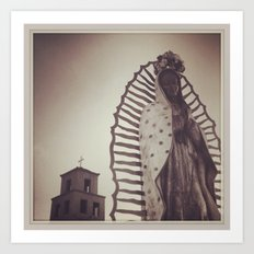 Shrine to our Lady of Guadelupe, Santa Fe, NM Art Print